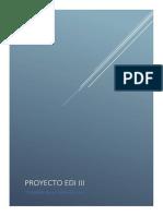 Proyecto EDI III