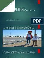 Calahorra Es Mi Pueblo. Jorge Machín Olmos.