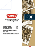Parle G- Sales and Distribution