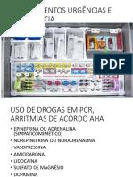Medicamentos Urgências e Emergência