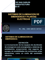 Tema 7 Iluminacion de Emergencia