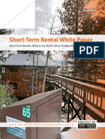Mountain Housing Council white paper on short-term rentals