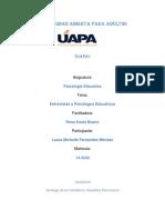 tarea 1, Psicología Educativa