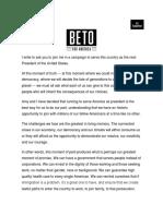 Beto ORourke - Running for president.pdf