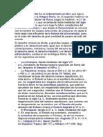 Derecho Romano Scribd