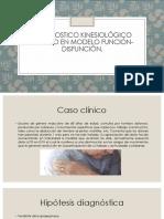 Diagnostico Kinesiológico Basado en Modelo Función-disfunción
