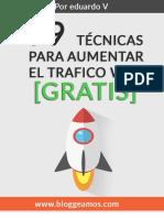 99 Tecnicas para aumentar el trafico a tu web