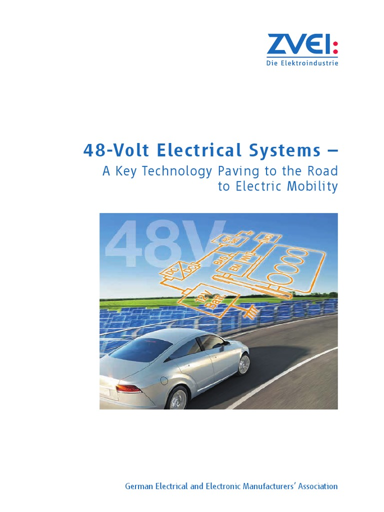 48 Volt Electrical Systems Electric Mobility Engl 2016 | Electric