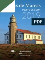 Tabla Mareas Gijon 2019 Web