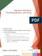 Hemo Dynamic Disorders Thrombo Embolism and Shock