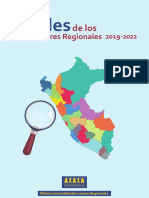 Perfiles de Los Gobernadores Regionales 2019-2022
