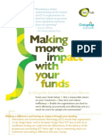 Briefing for Funders