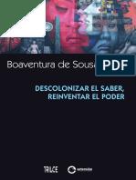 3--Boaventura de Sousa Santos - Descolonizar El Saber, Reinventar El Poder