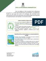 Estrategia Día Mundial de La Eficiencia Energética - Marzo 2019