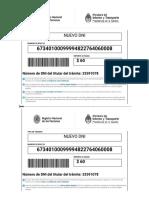 Nuevo DNI | Nuevo Pasaporte | Trámite WEB