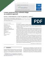 Tratamiento para la solubilización de proteínas a partir de lodo activado residual
