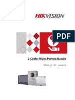 2-Wire Video Intercom Bundle User Manual-Spanish