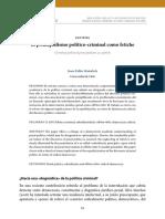 El Derecho Penal de La Víctima (Mañalich)