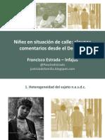 ESTRADA 2019 Niñez en Situación de Calle
