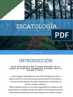 Tarea Final PPT de Escatología DRuiz
