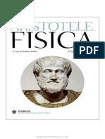 ARISTOTELE - Fisica - Bompiani (2011).pdf