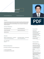 Burhan Resume