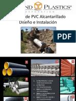 Diseño e Instalación Tubería PVC Alcantarillado