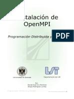 Instalación de OpenMPI - PDF
