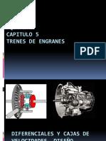 Diferenciales y Cajas de Velocidades, Diseño Cinemático