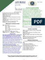 Bvk Newsletter May 2008