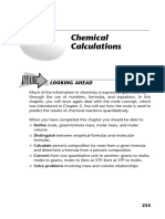 Chemistry - Calculations