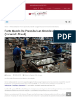 Forte Queda de Pressão Nas Grandes Economias (Incluindo Brasil) – Crítica Da Economia