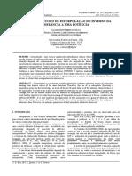 Estudo Do Método de Interpolação Do Inverso Da Distância