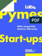 Estudio Pymes y Start-ups ADN Compartido, Destino Diferente