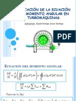 Aplicación de La Ecuación Del Momento Angular En