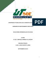 Ecuaciones Diferencias IMI 2009 UTSOE Manual