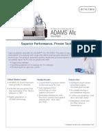 Arkray Adams a1c Product Brochure