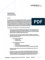Learfield Contract-Memorandum of Understanding - 1-31-2014