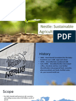 CSR- Nestle Sustainable Agriculture Initiative