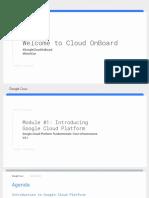 Cloud OnBoard Fundamentals Deck