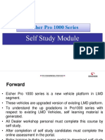 Eicher Pro 1000 series models - Self Study module presentation in PDF format.pdf