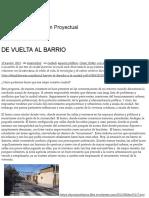 De Vuelta Al Barrio _ Tipos (in)Urbanos