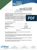 Antiseptico Wescohex Solucion West