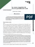 La Conciliacion como requisisto de Procebilidad en la Jurisdiccion Civil Colombiana.pdf
