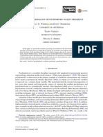 Wijsen, L. D., Borsboom, D., Cabaço, T., & Heiser, W. J. (2019). an Academic Genealogy of Psychometric Society Presidents. Psychometrika.