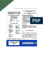 ARGUS 5% SG Etiqueta x 100g (1)