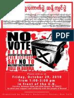 NO Vote - 29Oct2010
