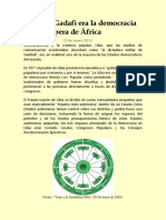 Garikai Chengu_Libia de Gadafi Era La Democracia Más Próspera de África
