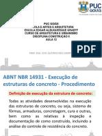 14931 - Construção-execução de Estrutura de Concreto (Não Imprimir)