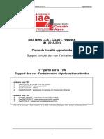 - - - Support préparation TD1 18-19 - - -